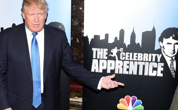 Donald Trump attends a Celebrity Apprentice red carpet event on Feb. 3, 2015, at Trump Tower in New York City.