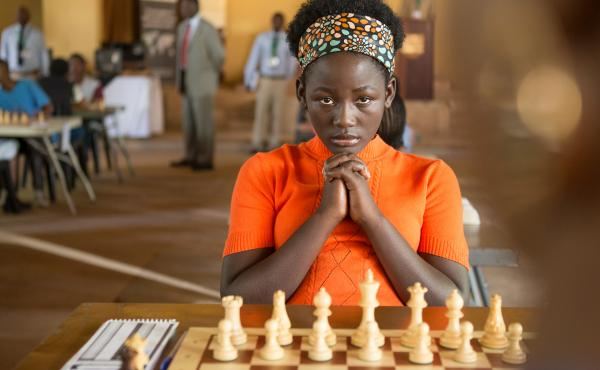 """Queen of Katwe was filmed in English, but that isn't Madina Nalwanga's first language. """"She worked extremely hard,"""" co-star Lupita Nyong'o says, """"and I think her discipline as a dancer came in very handy."""""""