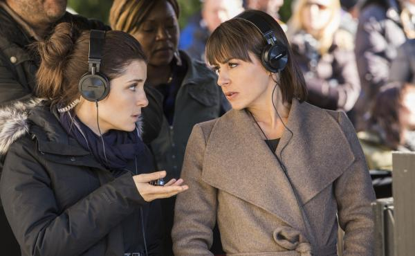 Shiri Appleby and Constance Zimmer in Lifetime's UnREAL.