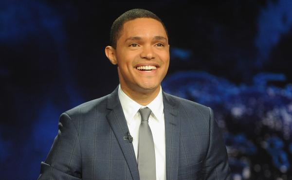"""Trevor Noah — who took over hosting from Jon Stewart in 2015 — remembers watching The Daily Show on CNN in South Africa. """"It looked like a news show and it had the same colors as CNN and the ticker,"""" he says. """"I just worked under the assumption that i"""
