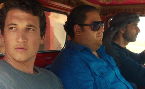 Miles Teller and Jonah Hill play war profiteers in director Todd Phillips' War Dogs.