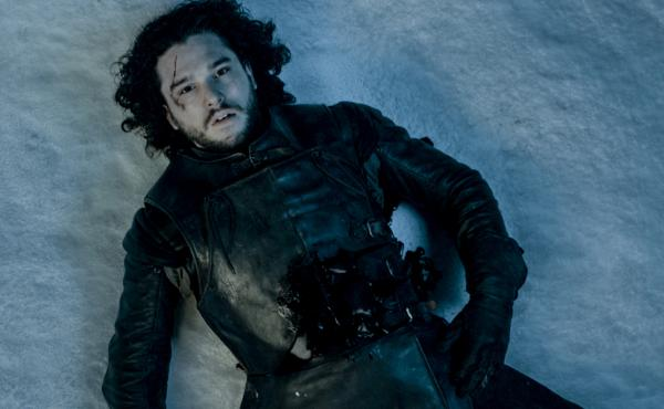 Will Kit Harington's Jon Snow — seen here after a seemingly fatal attack at the end of season five — survive? No one knows.