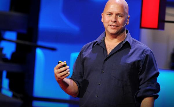 """""""When you tell someone your goal and they acknowledge it ... the mind is kind of tricked into feeling that it's already done."""" — Derek Sivers"""
