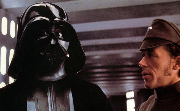 David Prowse as Darth Vader in Star Wars. As you probably know, but many 5-year-olds don't.