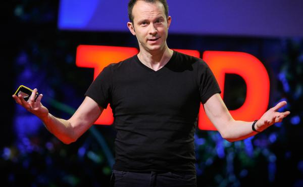 Tim Harford on the TED Stage