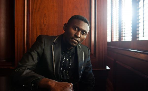 Brian Bwembya Kasoka (also known as B Flow) sings and raps about women's issues.