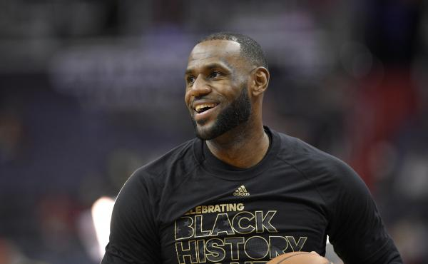 Cleveland Cavaliers forward LeBron James is one of many NBA figures who's recent comments have veered into current politics.