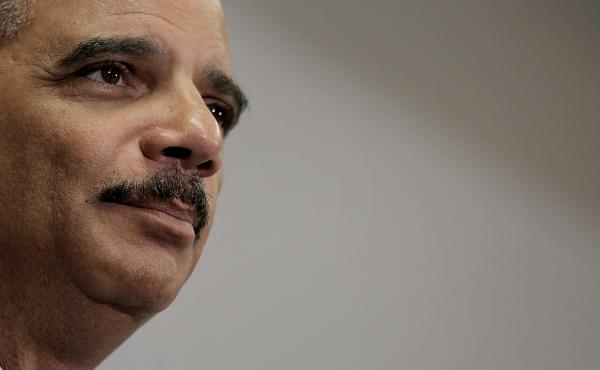 U.S. Attorney General Eric Holder, shown speaking at the Congressional Black Caucus legislative conference on Friday, will be stepping down from his position as soon as a replacement is appointed.