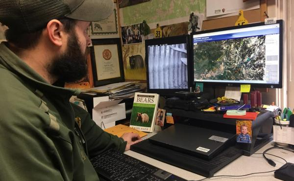 Yosemite National Park wildlife biologist Ryan Leahy says he hopes the website keeps both people and bears safe.