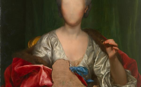 Anton Raphael Mengs left some key details out of his Portrait of Mariana de Silva y Sarmiento, duquesa de Huescar, 1775.