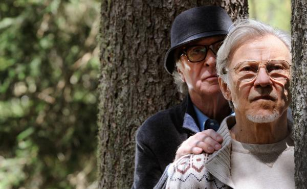 Michael Caine as aging composer Fred Ballinger and Harvey Keitel as Mick Boyle, a filmmaker, play septuagenarian best friends in Youth.