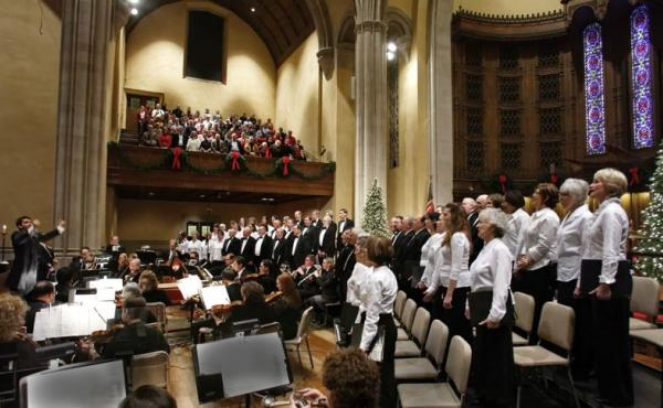 Winston Salem Symphony performs Handel's Messiah