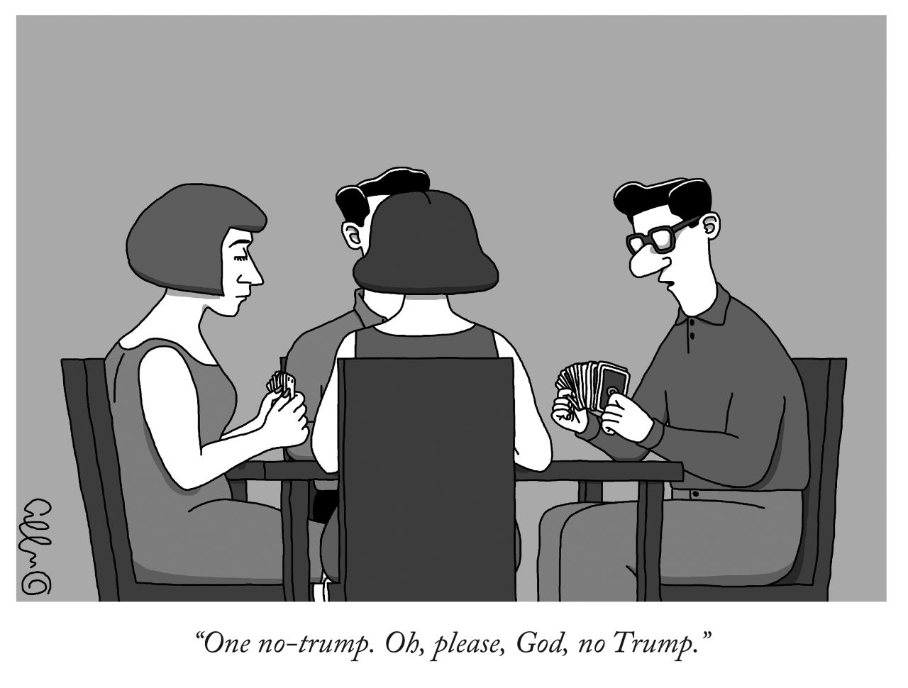 The New Yorker Cartoon Editor Goes Full Donald With Trump ...