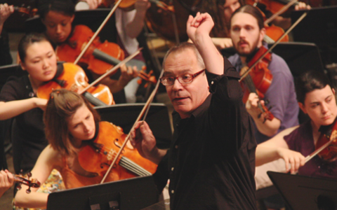 UNC School of the Arts: Mark Gibson Conducts the UNCSA Symphony Orchestra