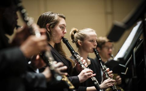 UNC School of the Arts: Wind Ensemble and Chamber Winds: Perpetual Motion!