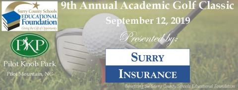 9th Annual Academic Golf Classic Surry County Schools