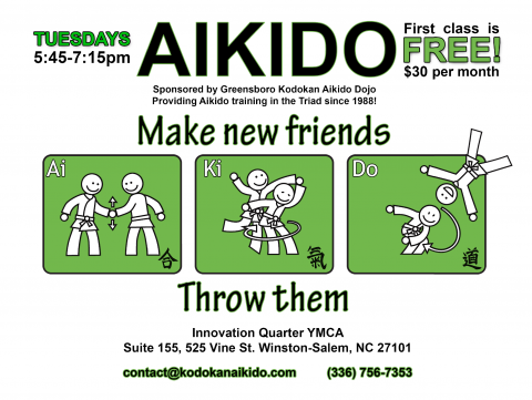 Kodokan Aikido Classes in Winston-Salem
