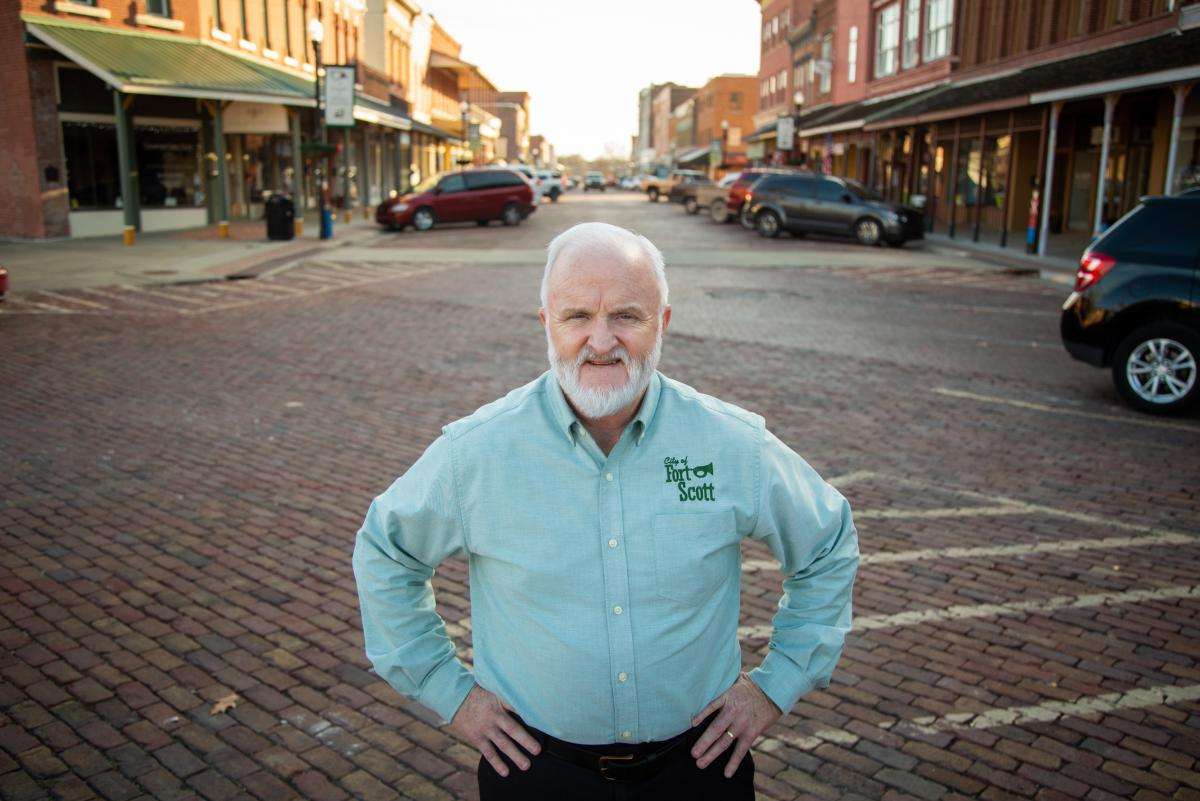 """Fort Scott City Manager Dave Martin says he knows his town will never have another full-service hospital — but he doesn't think it needs one. Instead, Martin and his staff believe they need """"right-sized"""" health care that can cover fundamentals."""