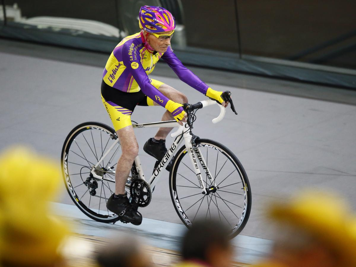 """""""If the president of his teenage club who told him he was not made for cycling because he was too small could see him today, he would kick himself,"""" Marchand's coach and friend Gerard Mistler told The Associated Press."""
