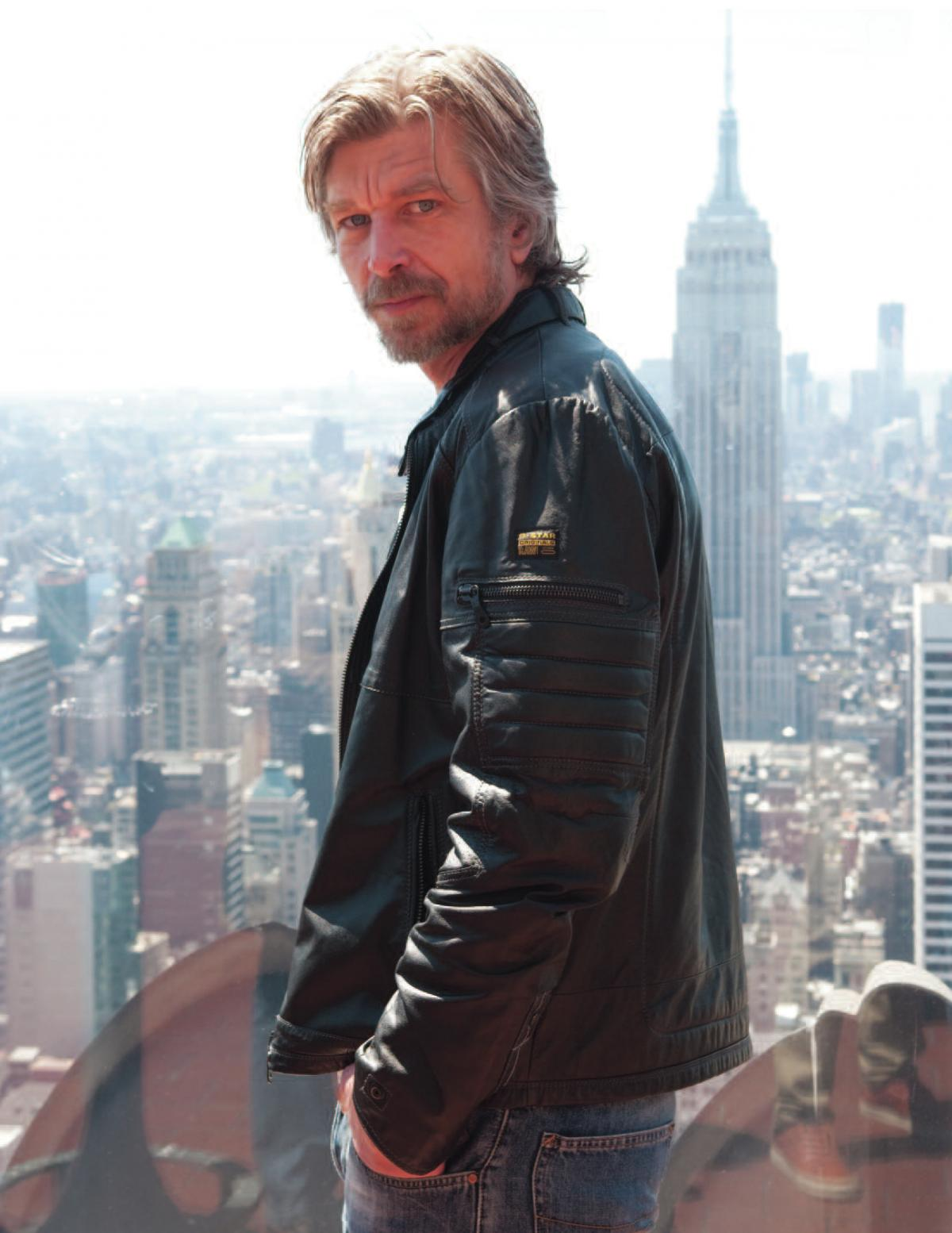 Karl Ove Knausgaard, a 46-year-old Norwegian, has written a six-volume, 3,600-page autobiographical novel, My Struggle.