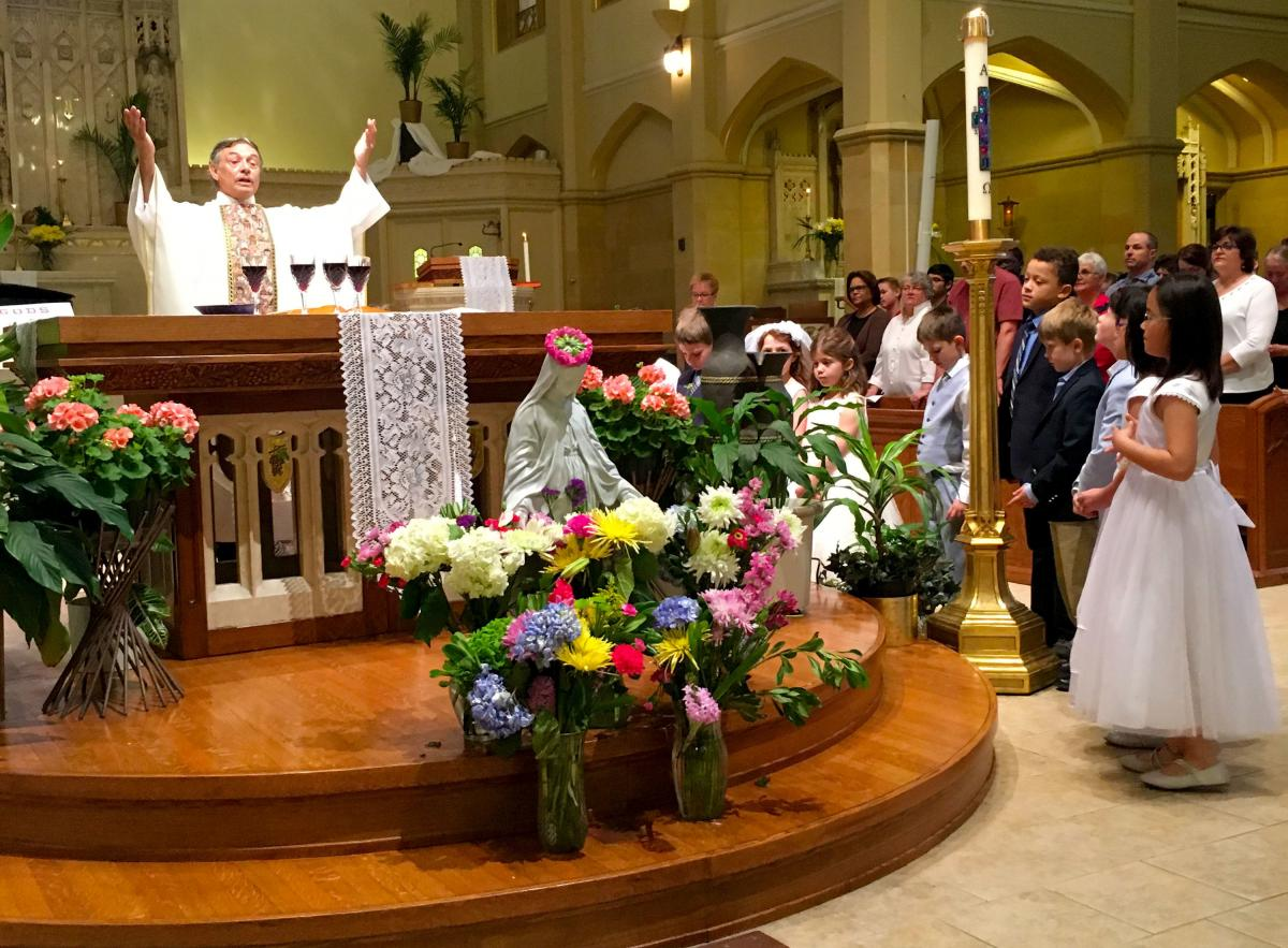 Father Larry Chapman, the parish priest at St. Sebastian in Milwaukee, said he now takes a looser approach when he explains church teachings.