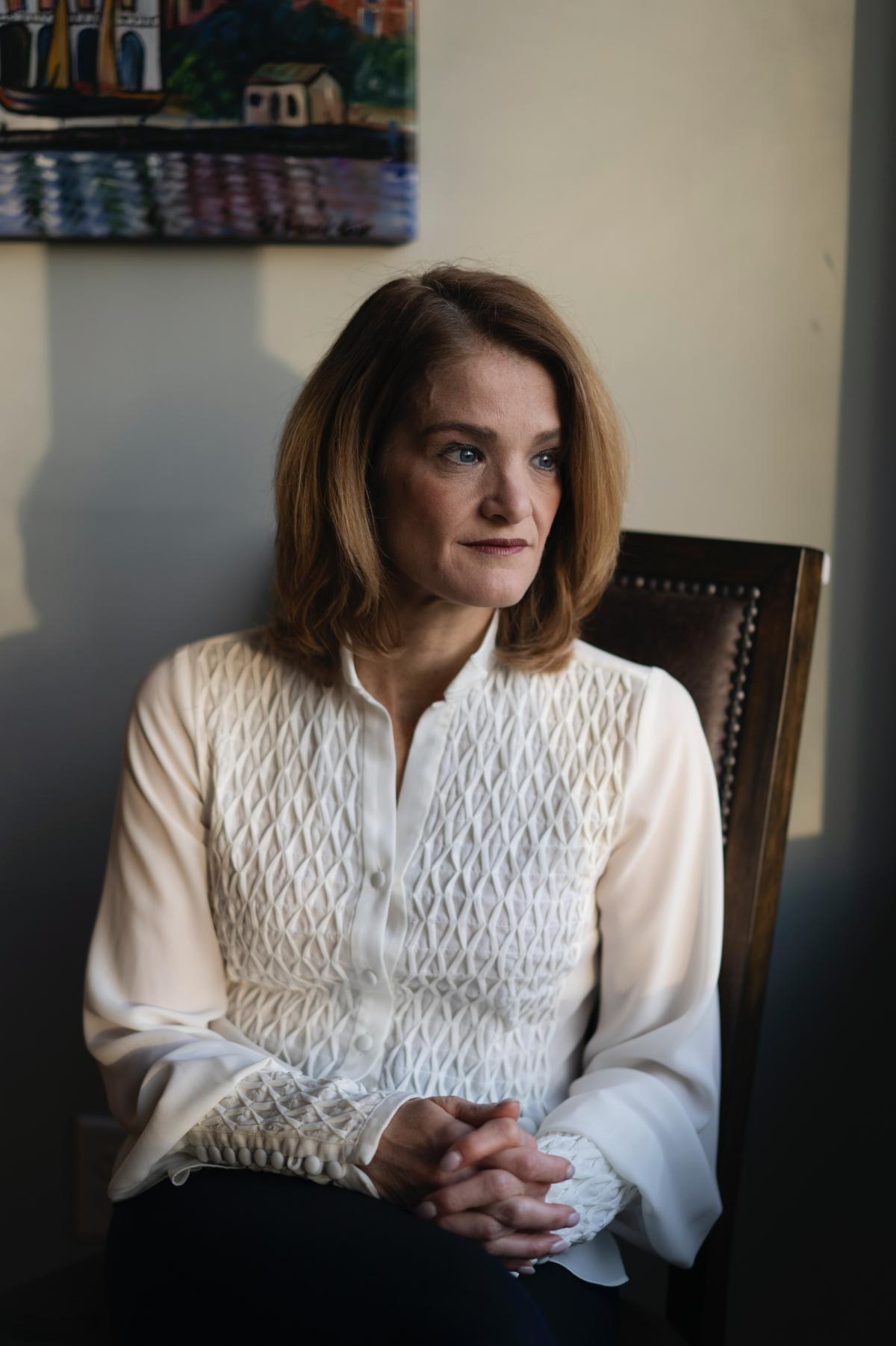 """Nancy Byatt, founding medical director of MCPAP for Moms, says she developed the program after doctors told her they didn't know how to help  pregnant and new moms recover from depression, and that they needed a """"lifeline"""" to support them."""
