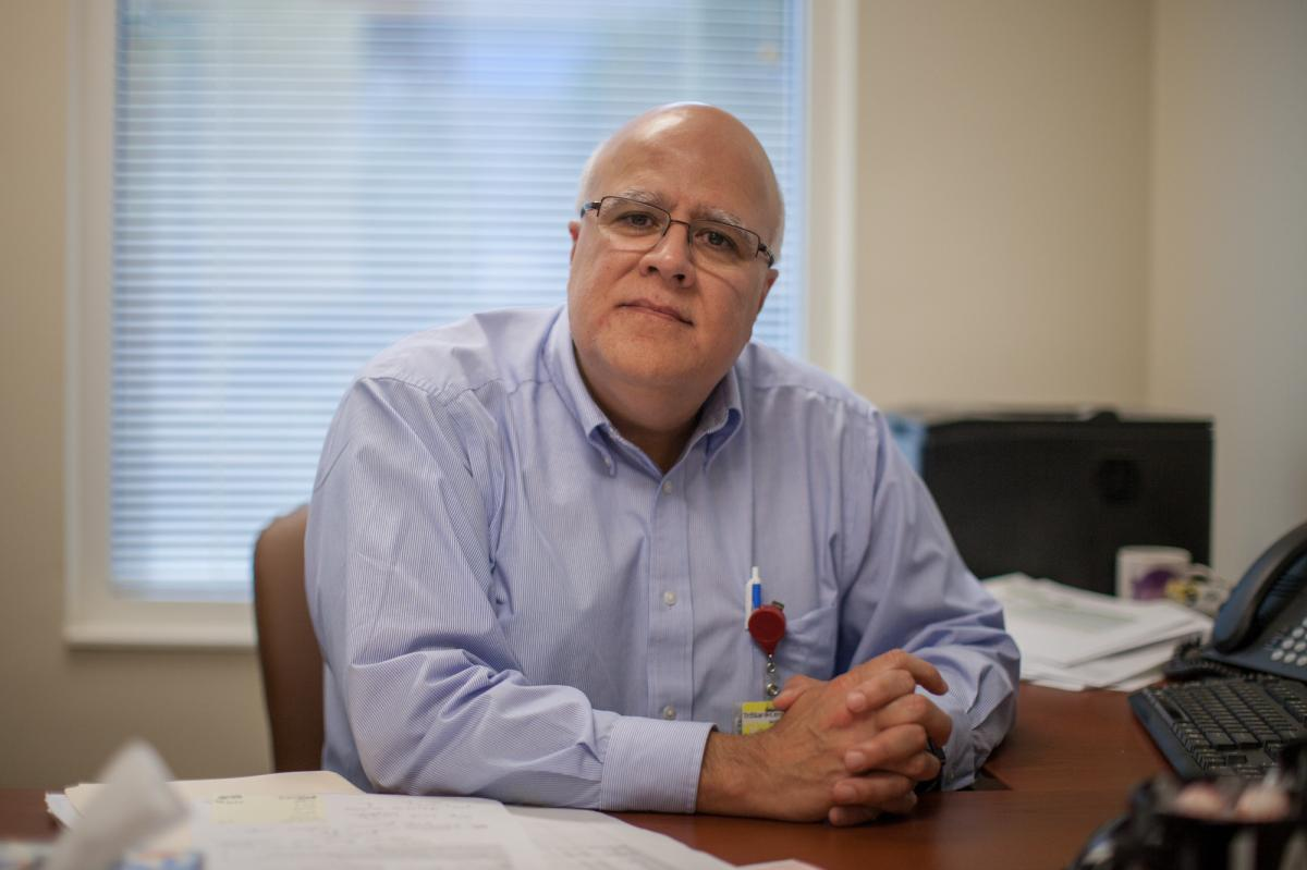 Dr. Haydar Frangoul, medical director of pediatric hematology/oncology at HCA Healthcare's Sarah Cannon Research Institute and TriStar Centennial Medical Center, is leading the study in Nashville.