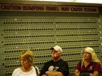 Take a tour of the Hanford site, a nuclear production complex in Richland, Wash., and you'll see the hundreds of mechanical water pressure gauges wired to the process tubes inside the core. Tour guide Paul Vinther warns that bumping these gauges could thr