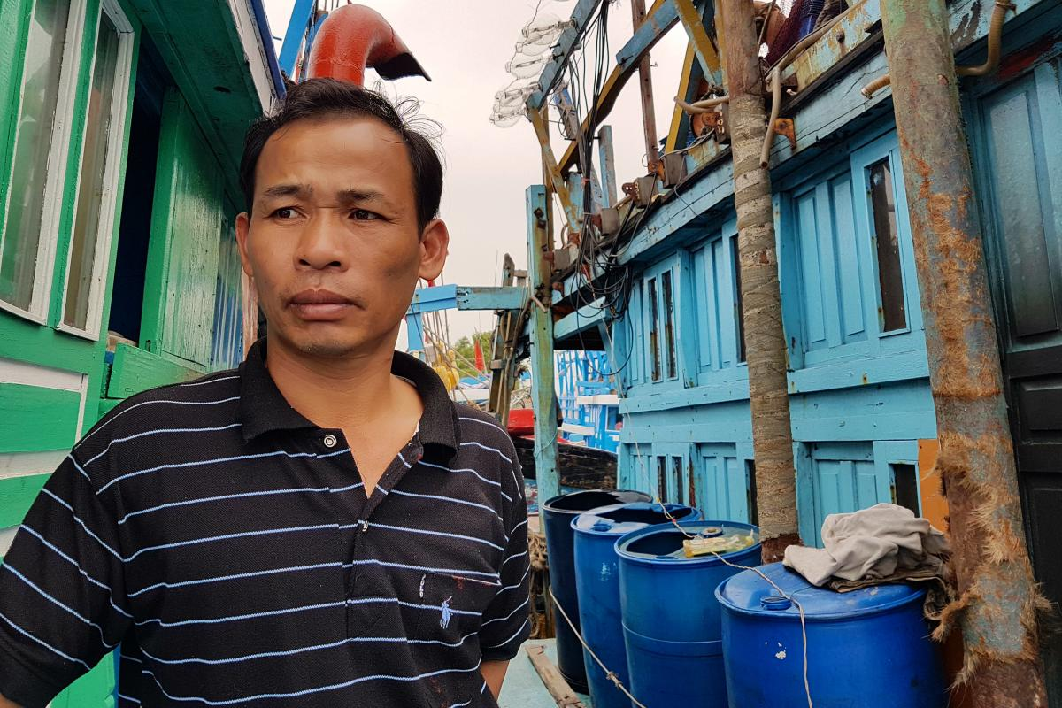 Capt. Pham Van Thanh, 46, is hopeful that the U.S. carrier visit leads to increased patrols in the South China Sea — or the East Sea, as the Vietnamese call it.