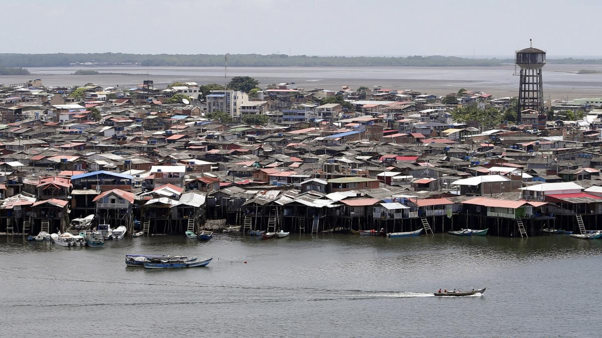 Boats cruise along Tumaco in southern Colombia. An investigation by Human Rights Watch in 2018 found that former guerrillas were waging a brutal campaign of violence in the port city, fueled by booming coca production, a lack of basic infrastructure and d