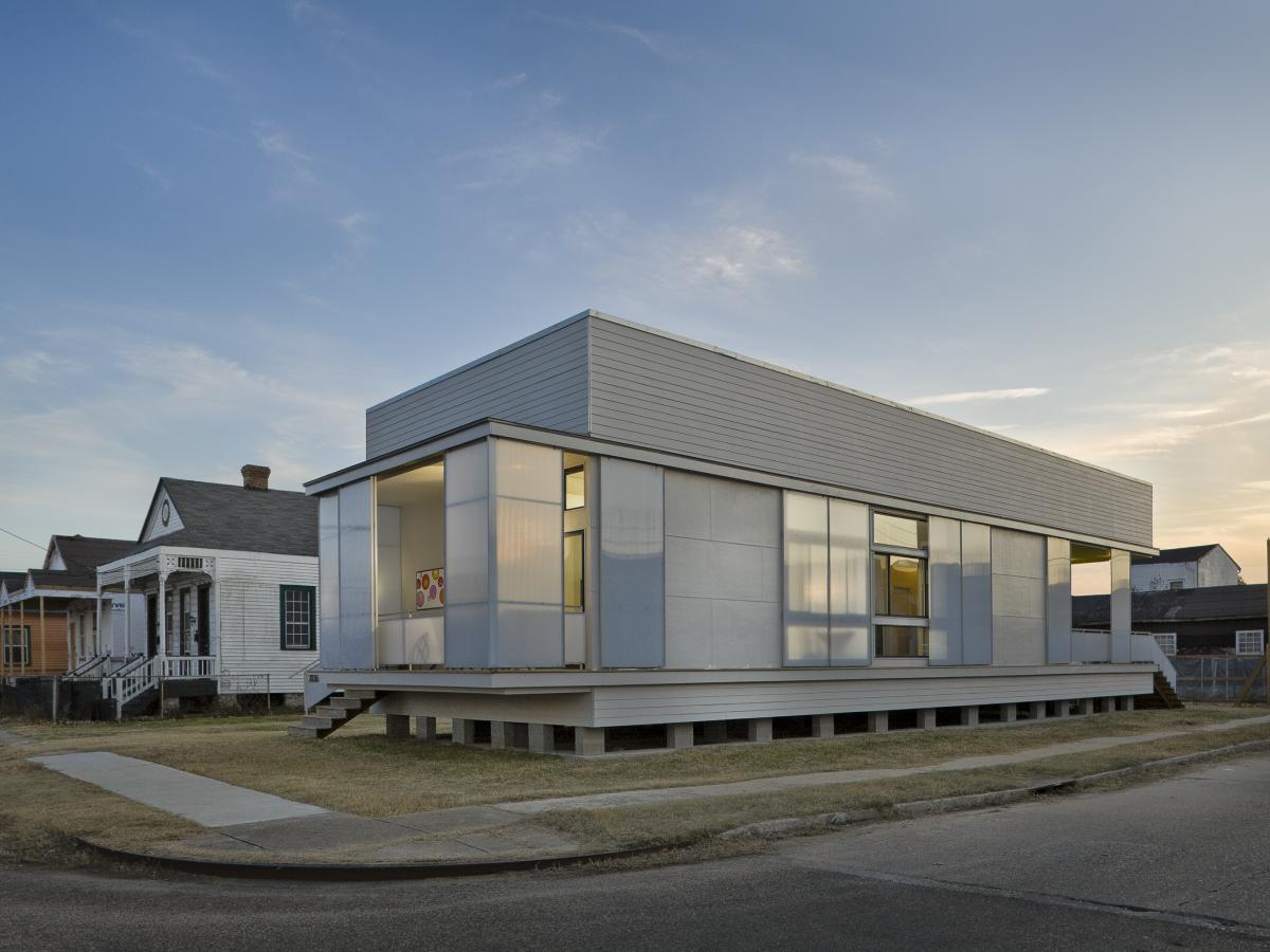 Tulane architecture students designed and built this New Orleans house as part of the school's URBANbuild program.