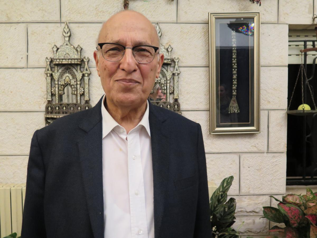 Nabil Shaath, a senior Palestinian official.