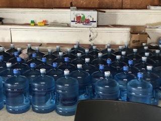 The Kenai Peninsula Borough shipped in hundreds of gallons of water for Nanwalek residents as the water crisis worsened.