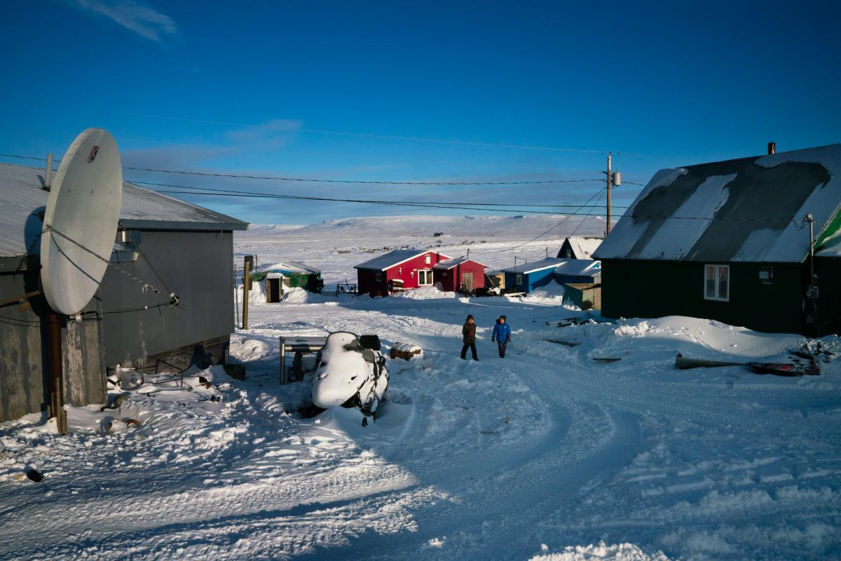 The 2020 census officially starts in Toksook Bay, an Alaskan fishing village along the Bering Sea.
