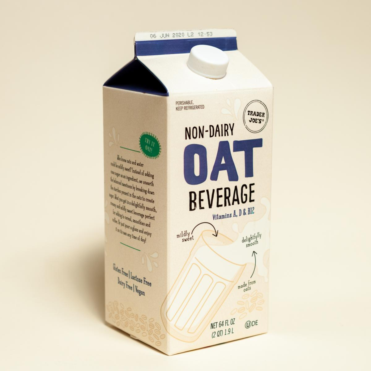 Oat milk has skyrocketed in popularity as people stock up for the pandemic.