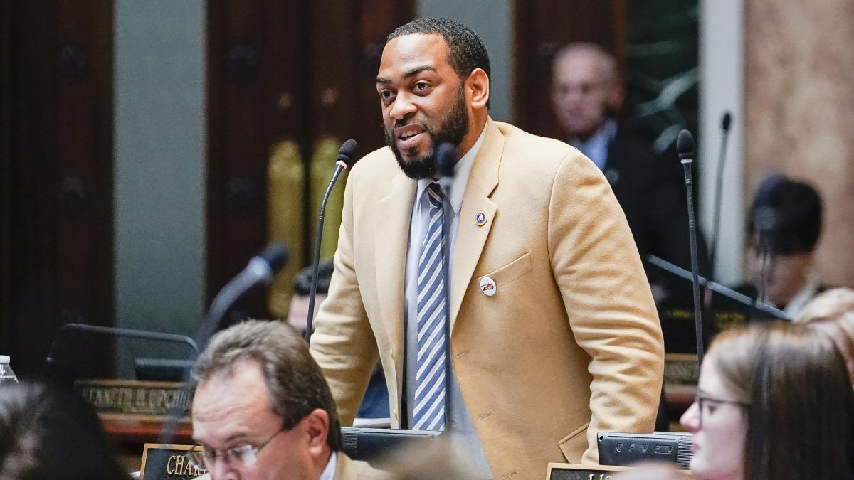 Kentucky state Rep. Charles Booker gained momentum in the weeks before the Democratic primary.