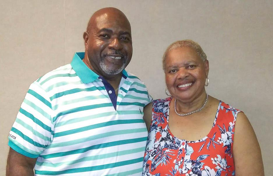"""Alvy Powell, left, told his sister, Yvonne, during a StoryCorps conversation last week that he used to try to mimic """"the beauty of her voice."""""""