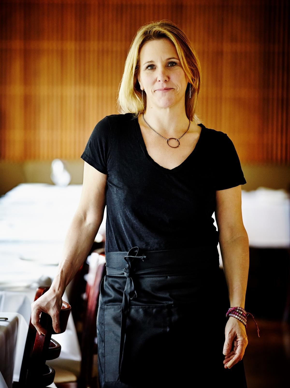 Holly Smith, chef and owner of Cafe Juanita in Kirkland, Wash., says she will not reopen her restaurant to diners until all of her staff have gotten the COVID-19 vaccination.