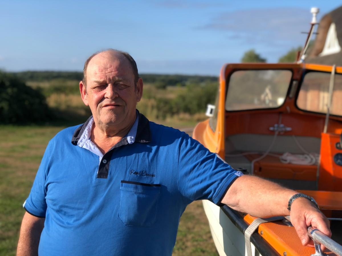 Hans-Joachim Bull is a fifth-generation German fisherman from the island of Ruegen, in the Baltic Sea. In 1990, a 36-year-old Angela Merkel made her first campaign stop in Bull's fishing hut. He's voted for her ever since.