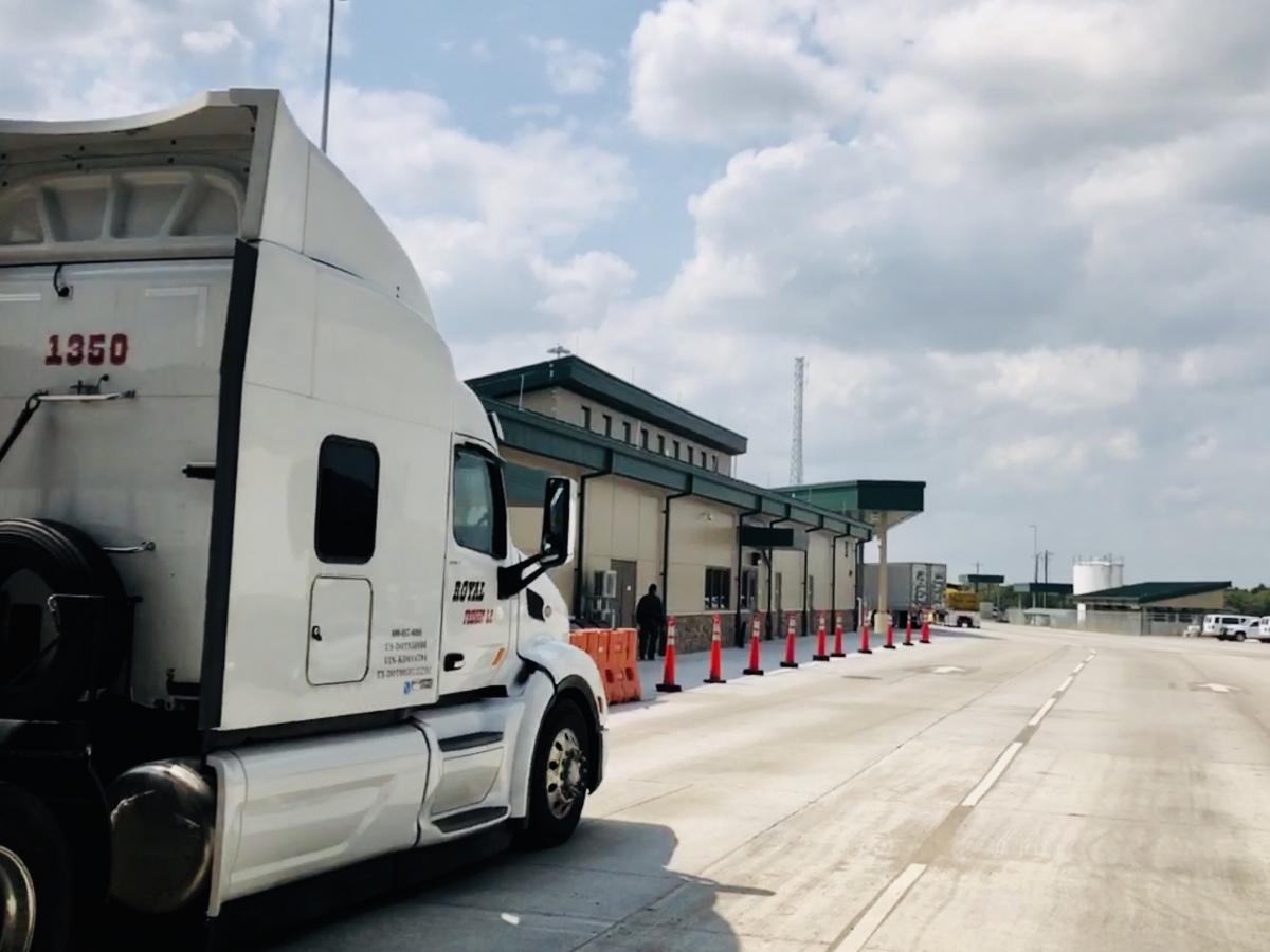 The Border Patrol's Falfurrias checkpoint in Texas, one of 34 inland checkpoints near the U.S.-Mexico border, is the agency's largest and busiest.