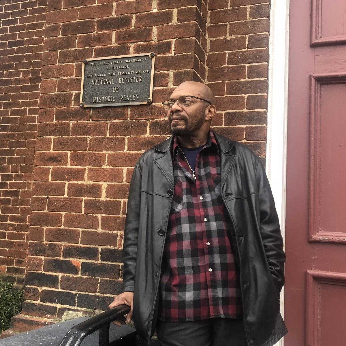 Don Gathers, deacon at historic First Baptist Church and co-founder of the Charlottesville chapter of Black Lives Matter.