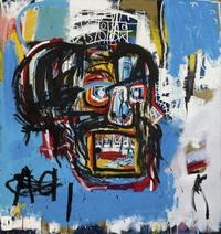 Jean-Michel Basquiat's Untitled was produced in 1982. The Los Angeles Times says that until shortly before Thursday's auction, it hadn't been shown in public since a private collector bought it for $19,000 in 1984.
