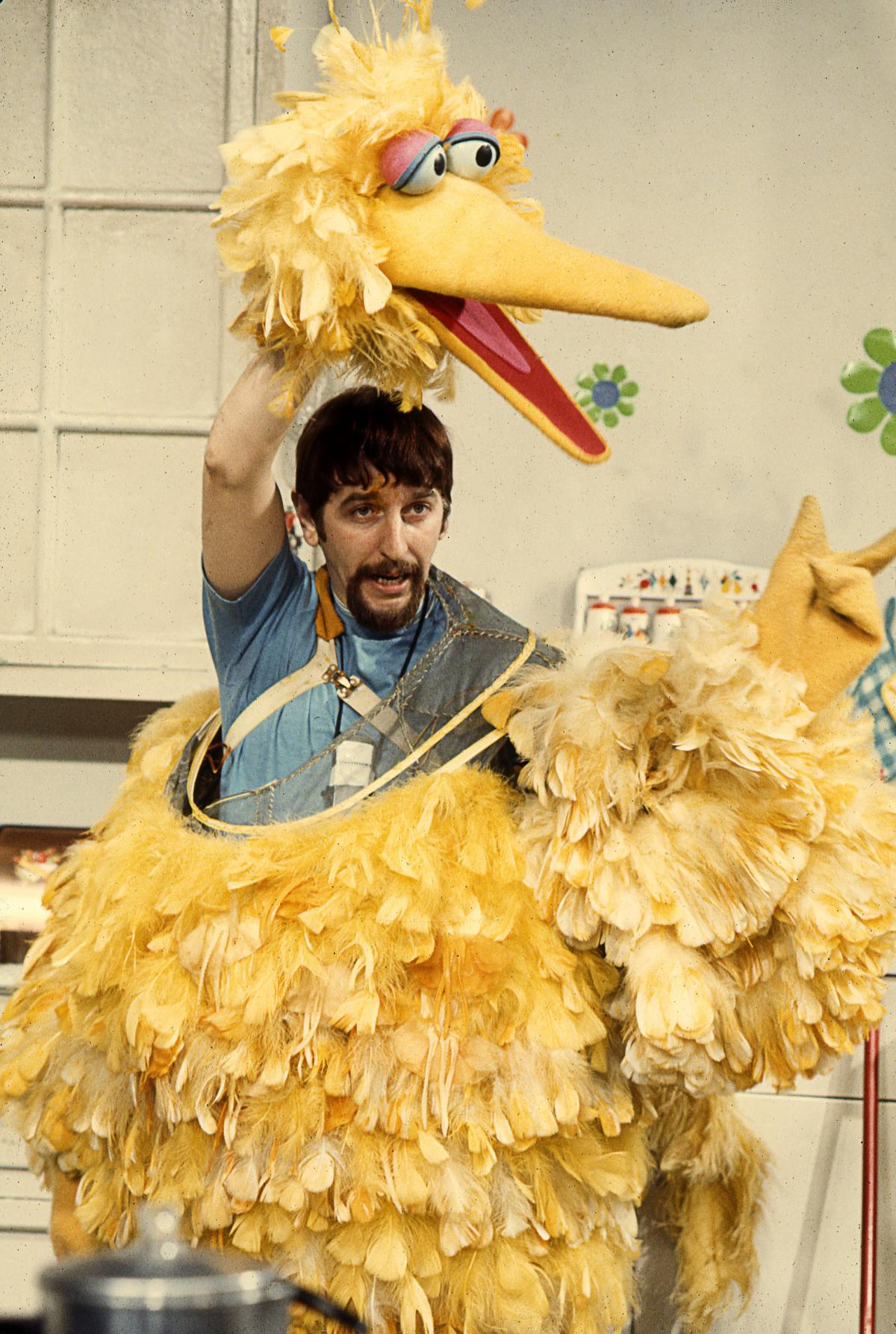 Spinney, who also plays Oscar the Grouch, says the Big Bird voice is actually just his own voice, but a little higher.