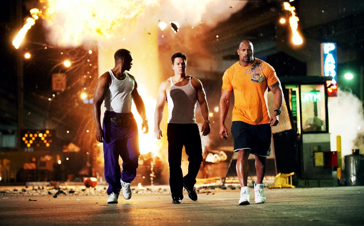 The Bang-Bang Club: Pain & Gain, with Anthony Mackie, Mark Wahlberg and Dwayne Johnson as three guys on a heist, is a coulda-been-nimble caper that got Michael Bay-ified on the way to the multiplex.