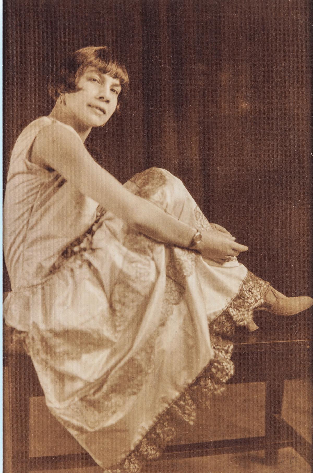 Florestine Perrault Collins (American, 1895–1988) Portrait of Mae Fuller Keller, early 1920s Gelatin silver print
