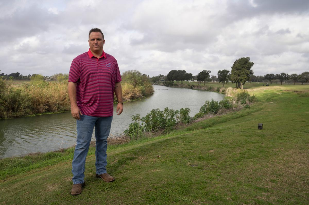 Jeremy Barnard's family owns the River Bend Resort & Golf Club in Brownsville, Texas. It was planning a major expansion, worth millions of dollars, then came the border wall.