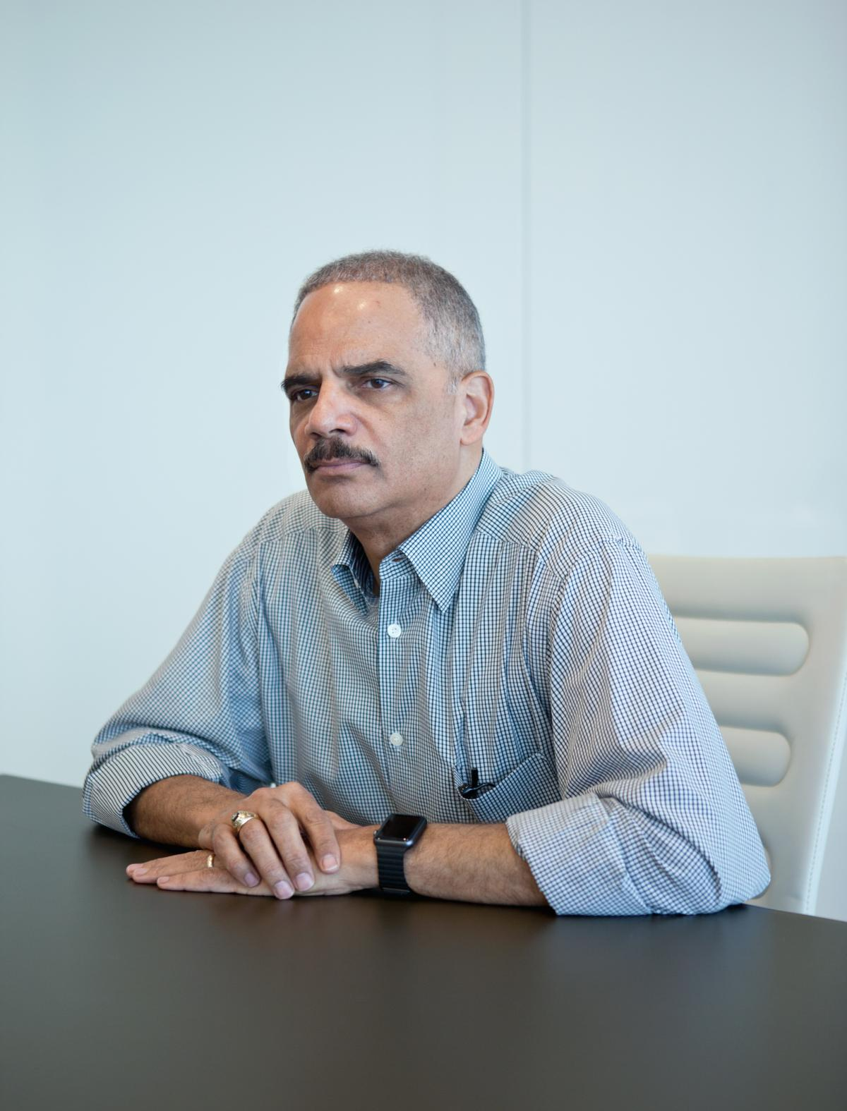 After stepping down as attorney general earlier this year, Holder returned to private practice as a partner at the law firm Covington & Burling.