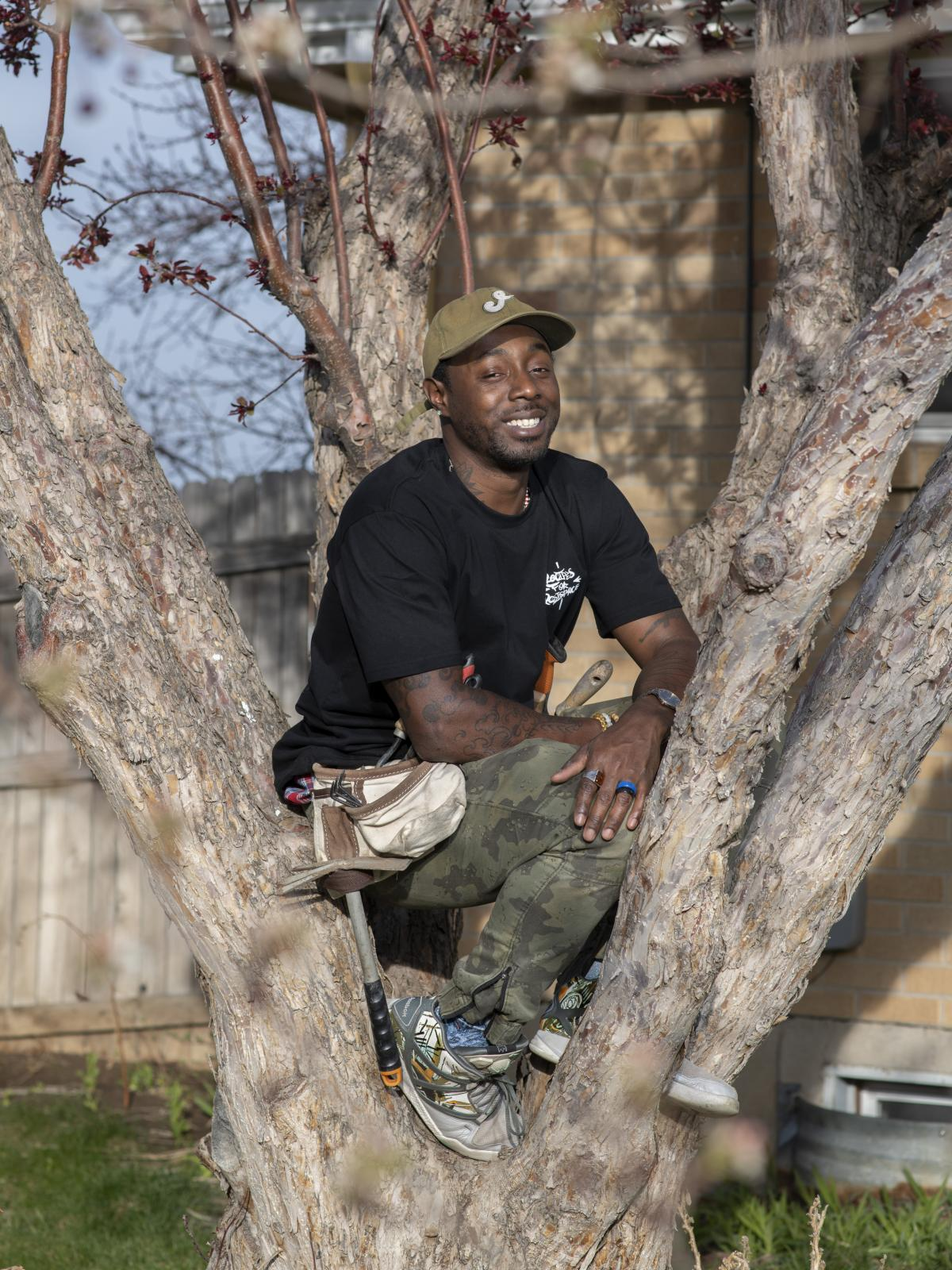 Vita, a vegan rapper, wants to encourage people of color to eat healthier by growing their own vegetables. He sells his own line of kale, beet and arugula seeds.