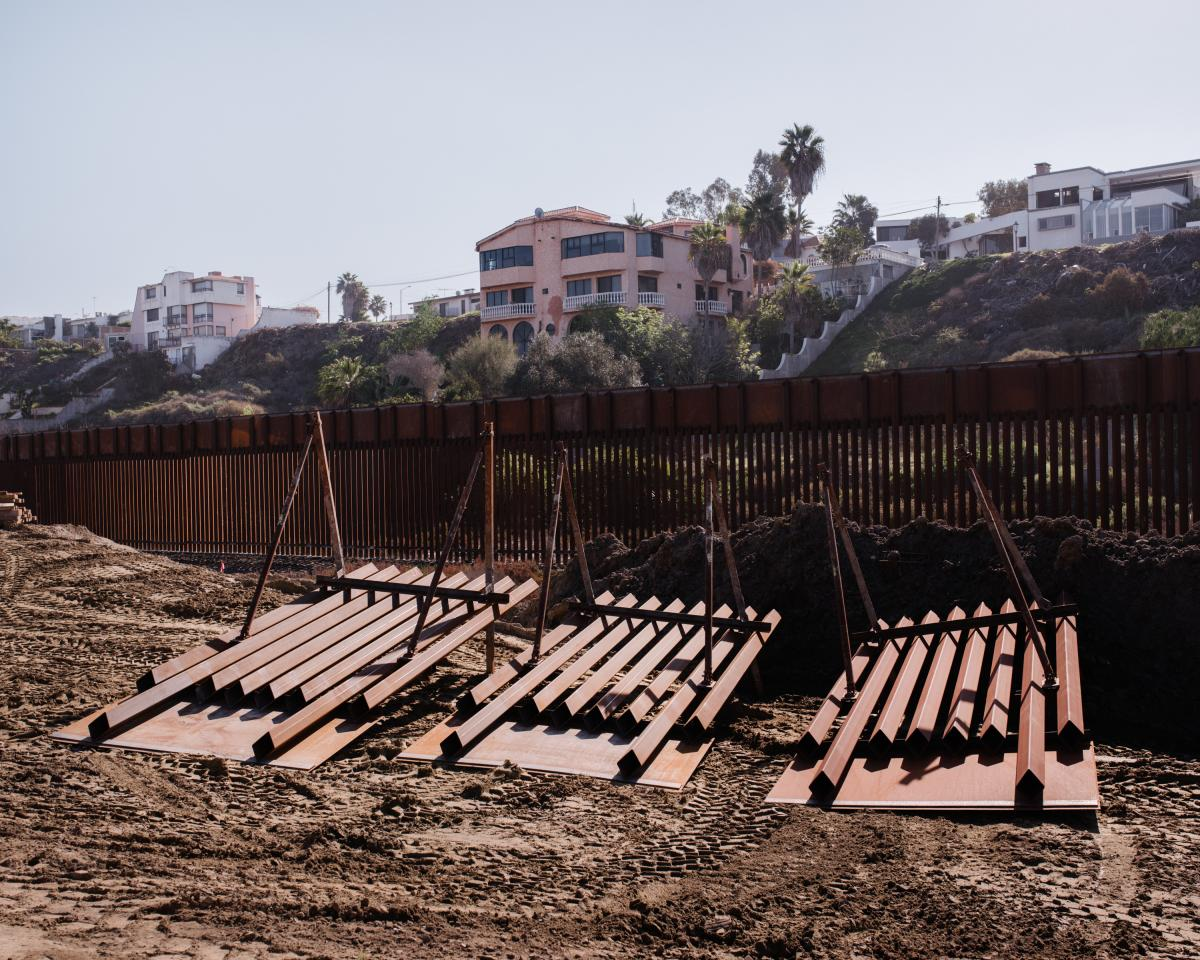 Customs and Border Protection is spending $10.5 million per mile to replace 14 miles of old fencing with 18-foot-tall, state-of-the-art, steel bollard barrier between San Diego County and Tijuana.