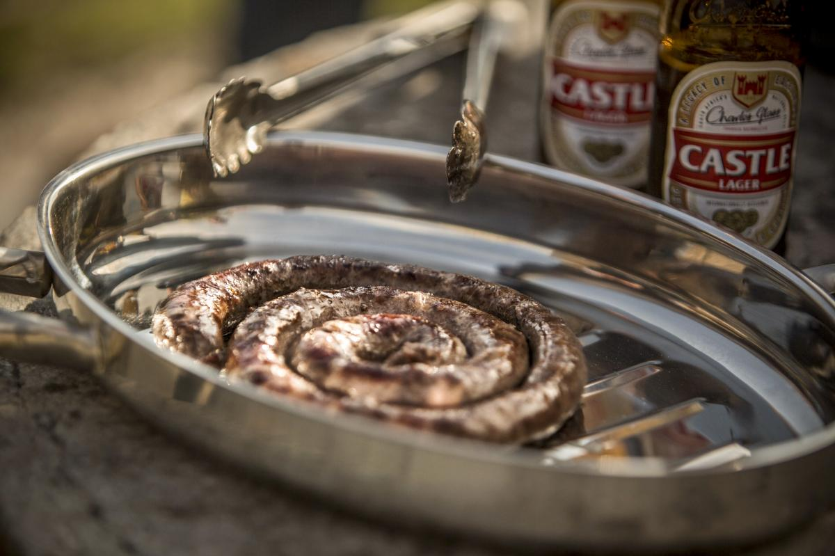 For Jan Scannell, the classic South African boerewors is an emblem of national unity. Spices (nutmeg, clove, coriander) brought by former slaves from the East, sausage-making skills imported by settlers from the West, cooked in the classic African style: